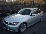 2007 Titanium Silver Metallic BMW 3 Series 335i Sedan #24753198