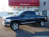 2007 Patriot Blue Pearl Dodge Ram 1500 ST Quad Cab 4x4 #24753160