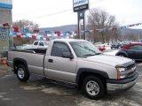 2004 Silver Birch Metallic Chevrolet Silverado 1500 Regular Cab #24753098