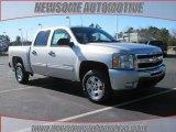 2010 Sheer Silver Metallic Chevrolet Silverado 1500 LT Crew Cab #24589598