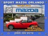 True Red Mazda MX-5 Miata in 2009