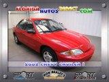 2002 Bright Red Chevrolet Cavalier Sedan #24589726