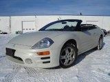 2003 Dover White Pearl Mitsubishi Eclipse Spyder GS #24693480