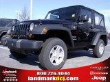 2010 Black Jeep Wrangler Sport 4x4 #24693527