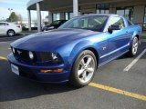 2006 Vista Blue Metallic Ford Mustang GT Premium Coupe #24693568