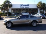 2005 Mineral Grey Metallic Ford Mustang V6 Premium Coupe #24693680