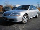 2002 Satin Silver Metallic Honda Accord EX V6 Sedan #24693814