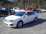 2010 White Suede Ford Fusion SEL V6 #24693851