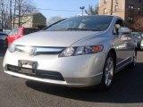 2007 Alabaster Silver Metallic Honda Civic EX Sedan #24693933