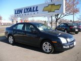 2008 Dark Blue Ink Metallic Ford Fusion SEL V6 #24753239