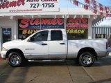 2004 Bright Silver Metallic Dodge Ram 1500 Laramie Quad Cab 4x4 #24753365