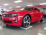 2010 Victory Red Chevrolet Camaro SS Coupe #24753375