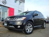2007 Super Black Nissan Murano SL AWD #24753424