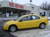 2003 Solar Yellow Dodge Neon SXT #24753461
