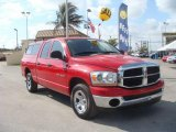 2006 Flame Red Dodge Ram 1500 ST Quad Cab #24753470