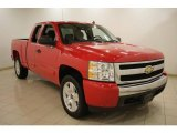 2008 Victory Red Chevrolet Silverado 1500 LT Extended Cab #24753607