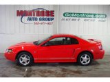 2001 Performance Red Ford Mustang V6 Coupe #24753629