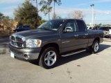 2007 Mineral Gray Metallic Dodge Ram 1500 SLT Quad Cab 4x4 #24753655