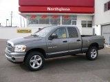 2007 Mineral Gray Metallic Dodge Ram 1500 SLT Quad Cab 4x4 #24874774
