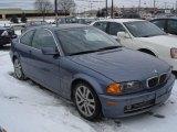 2001 Steel Blue Metallic BMW 3 Series 330i Coupe #24874952