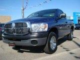 2008 Patriot Blue Pearl Dodge Ram 1500 ST Regular Cab #24874747