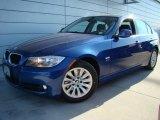 2009 Montego Blue Metallic BMW 3 Series 328xi Sedan #24874734