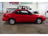 2001 Bright Red Ford Escort ZX2 Coupe #24875022