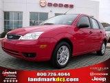 2005 Infra-Red Ford Focus ZX5 SE Hatchback #24874863