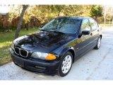 2001 Jet Black BMW 3 Series 325i Sedan #24901203