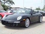 2008 Black Porsche 911 Carrera S Cabriolet #36742