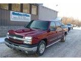 2005 Victory Red Chevrolet Silverado 1500 LS Crew Cab #24901204