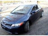 2007 Royal Blue Pearl Honda Civic LX Coupe #24901026