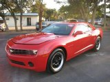 2010 Victory Red Chevrolet Camaro LS Coupe #24901030