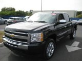 2010 Black Granite Metallic Chevrolet Silverado 1500 LT Crew Cab #24901034