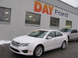 2010 White Platinum Tri-coat Metallic Ford Fusion SEL V6 #24901039