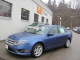 2010 Sport Blue Metallic Ford Fusion SE #24901040