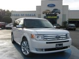 2010 White Platinum Tri-Coat Metallic Ford Flex Limited #24901060
