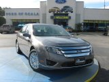 2010 Sterling Grey Metallic Ford Fusion Hybrid #24901076