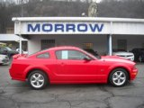 2007 Torch Red Ford Mustang GT Premium Coupe #24901108