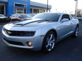 2010 Silver Ice Metallic Chevrolet Camaro LT/RS Coupe #24900917