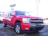 2010 Victory Red Chevrolet Silverado 1500 LT Extended Cab 4x4 #24901002