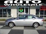 2005 Satin Silver Metallic Acura TSX Sedan #24945222
