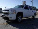 2009 Summit White Chevrolet Silverado 1500 LT XFE Crew Cab #24945147