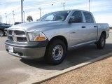 2010 Bright Silver Metallic Dodge Ram 1500 ST Crew Cab #24945097