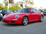 2008 Guards Red Porsche 911 Carrera 4 Coupe #247420