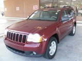 2008 Red Rock Crystal Pearl Jeep Grand Cherokee Laredo #24945424