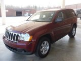 2008 Red Rock Crystal Pearl Jeep Grand Cherokee Laredo #24945425