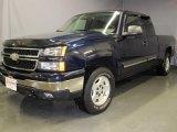 2006 Dark Blue Metallic Chevrolet Silverado 1500 LT Extended Cab 4x4 #24945202
