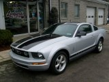 2007 Satin Silver Metallic Ford Mustang V6 Premium Coupe #24945211