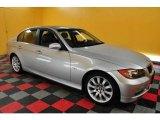 2006 Titanium Silver Metallic BMW 3 Series 325xi Sedan #24945277